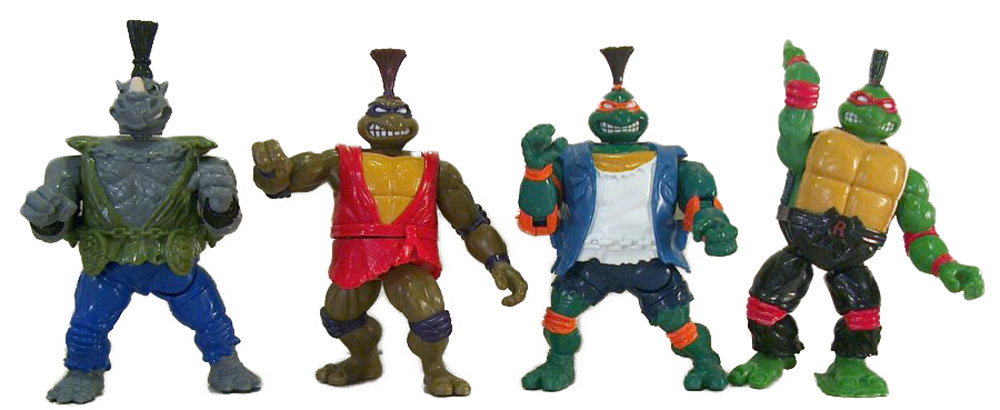 Muñecos de las Tortugas Ninja Kung-Fu TMNT Tournament Fighters