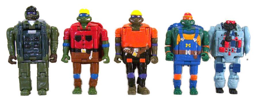 Muñecos de las Tortugas Ninja Mighty Mutations TMNT