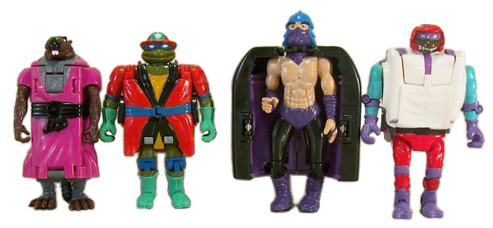 Muñecos de las Tortugas Ninja Road Ready Mutations TMNT