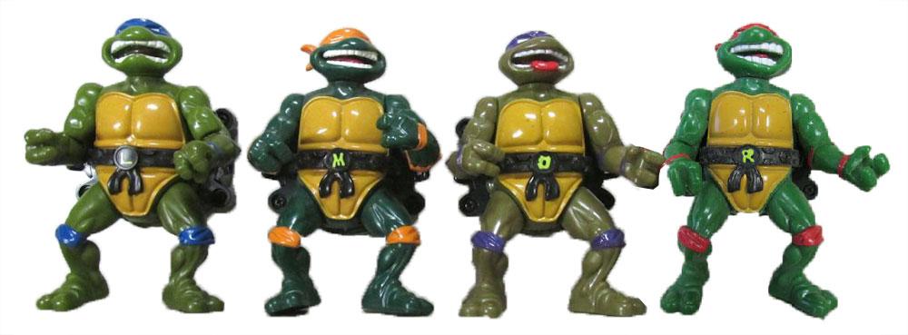 Muñecos de las Tortugas Ninja Talkin' Turtles TMNT