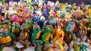 Muñecos de Las Tortugas Ninja TMNT