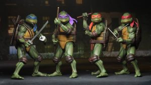 Muñecos Tortugas Ninja TMNT de NECA