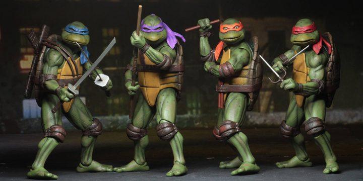 Muñecos Tortugas Ninja de NECA