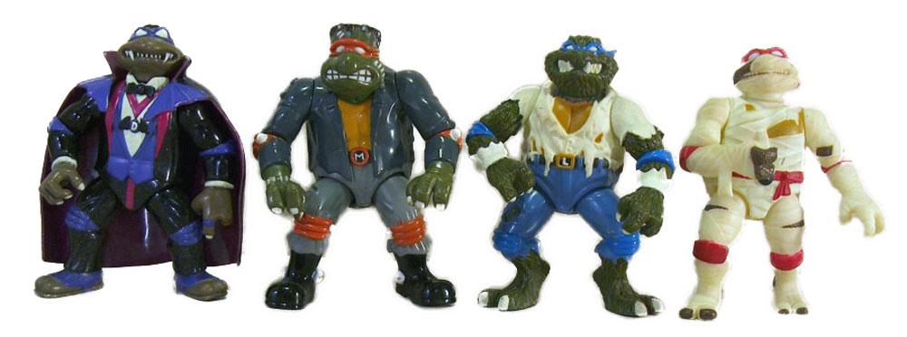 Muñecos de las Tortugas Ninja Universal Studios Monsters TMNT