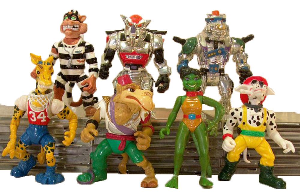 Muñecos de las Tortugas Ninja vintage 1993 TMNT