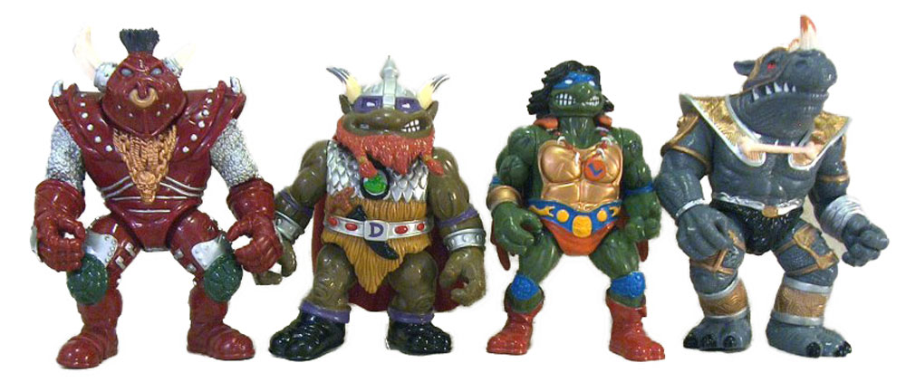 Muñecos de las Tortugas Ninja Warriors of the Forgotten Sewer TMNT
