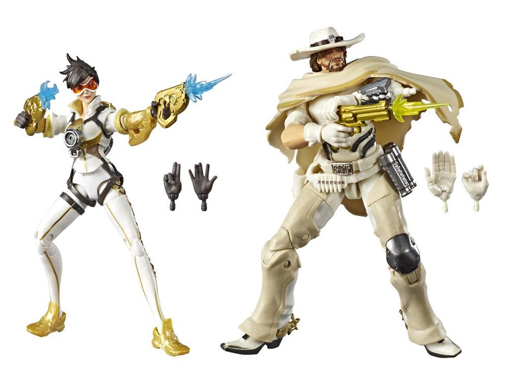 Muñecos de Tracer y McCree Overwatch Ultimates