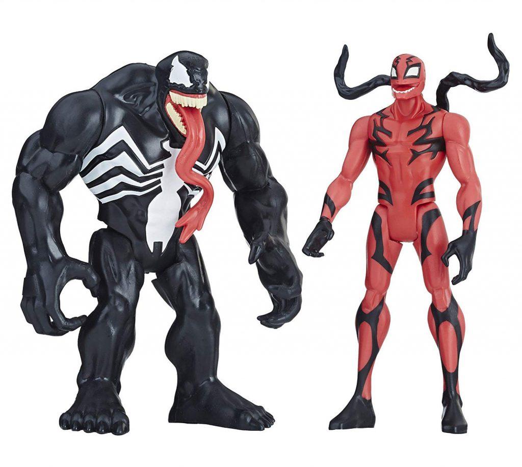 Muñecos Venom y Carnage de Hasbro