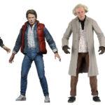Muñecos de Volver al Futuro de NECA