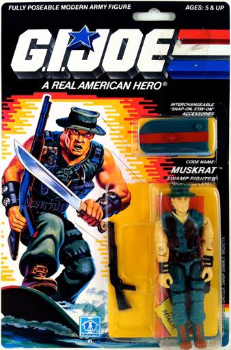 Muskrat G.I. Joe