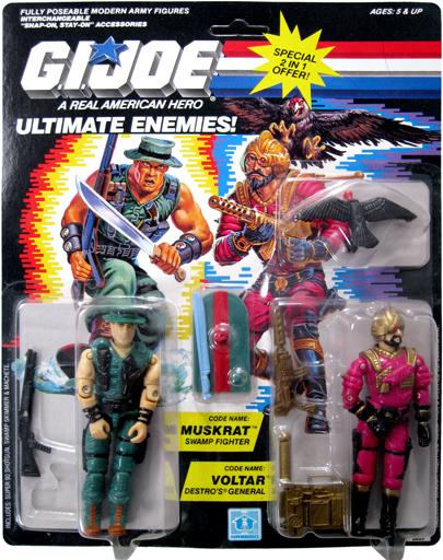 Muskrat & Voltar G.I. Joe