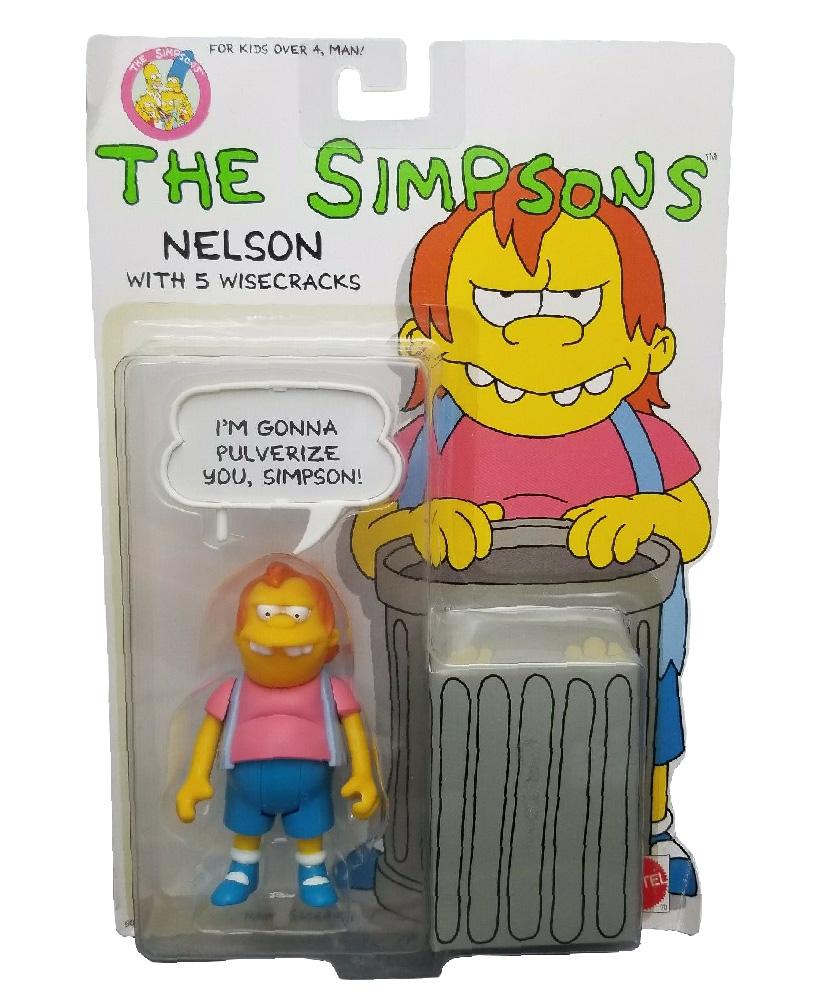 Muñeco de Nelson - Los Simpson Mattel 1990
