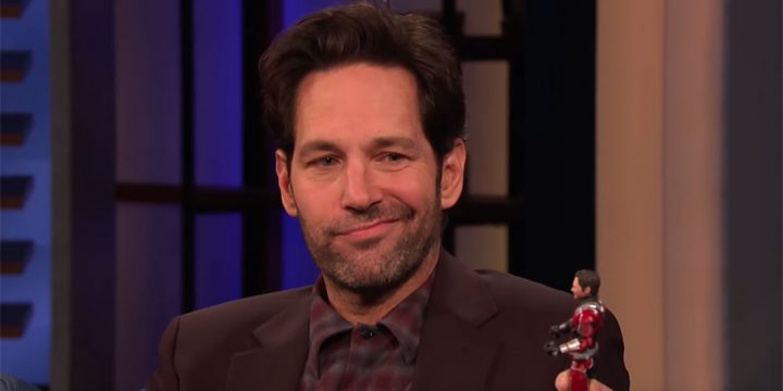 Paul Rudd no está contento con el muñeco de Ant-Man de Marvel Legends