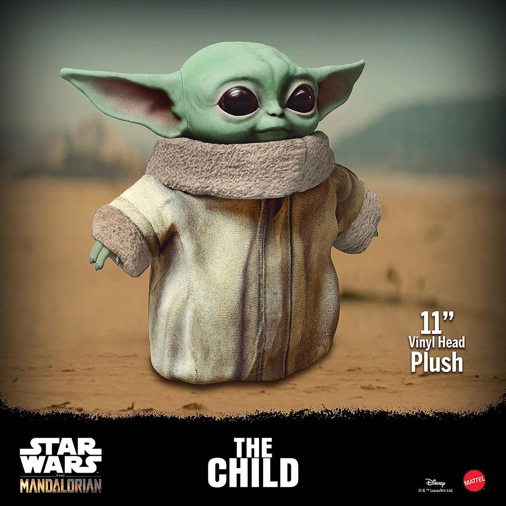 Peluche Baby Yoda de Mattel