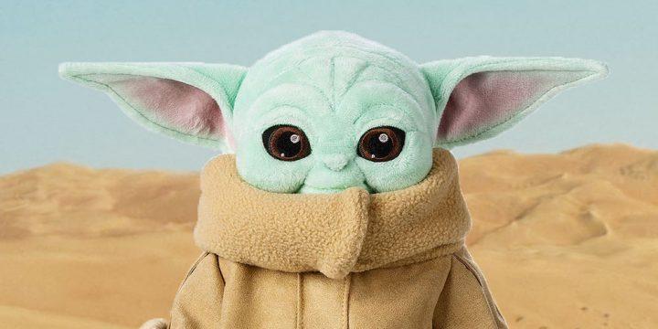 Peluche de Baby Yoda