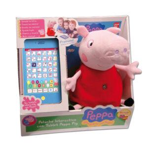 Peluche de Peppa Pig interactivo