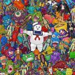 Bill McConkey crea pósters con juguetes retro
