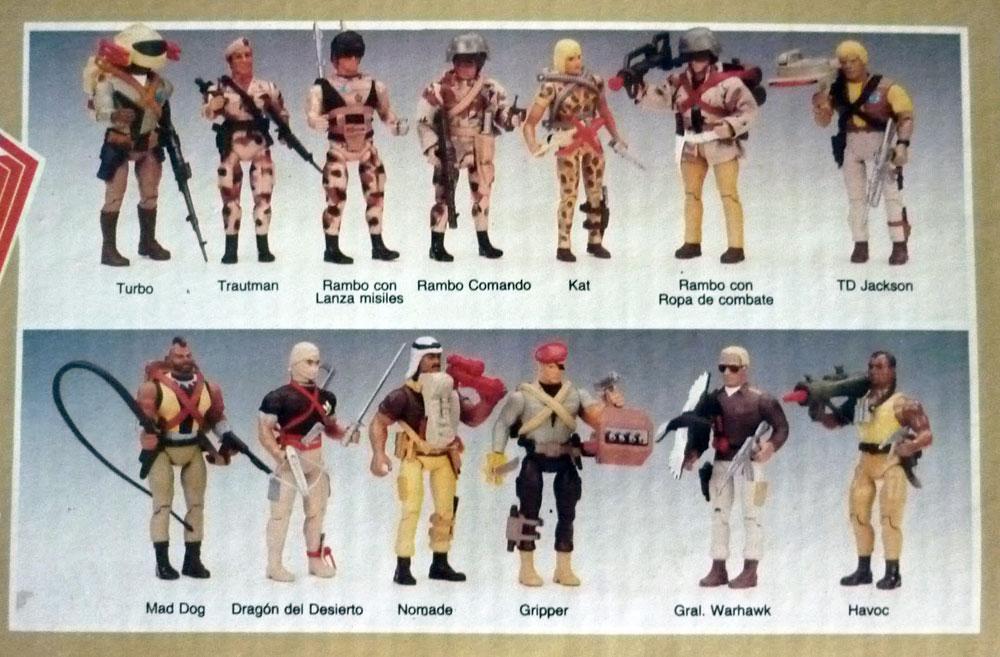 Rambo Brigada del Desierto