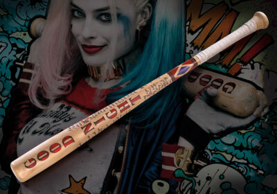 Réplica del bate de Harley Quinn