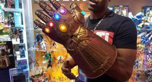 Prop réplicas de armas de Avengers