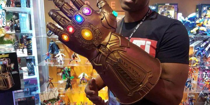Réplicas de armas de Avengers