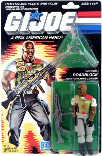 Roadblock v2 G.I. Joe