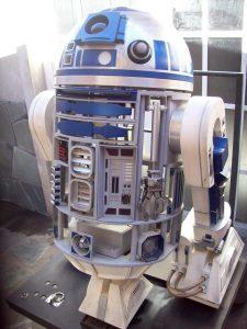 Réplica robot de R2D2, Star Wars