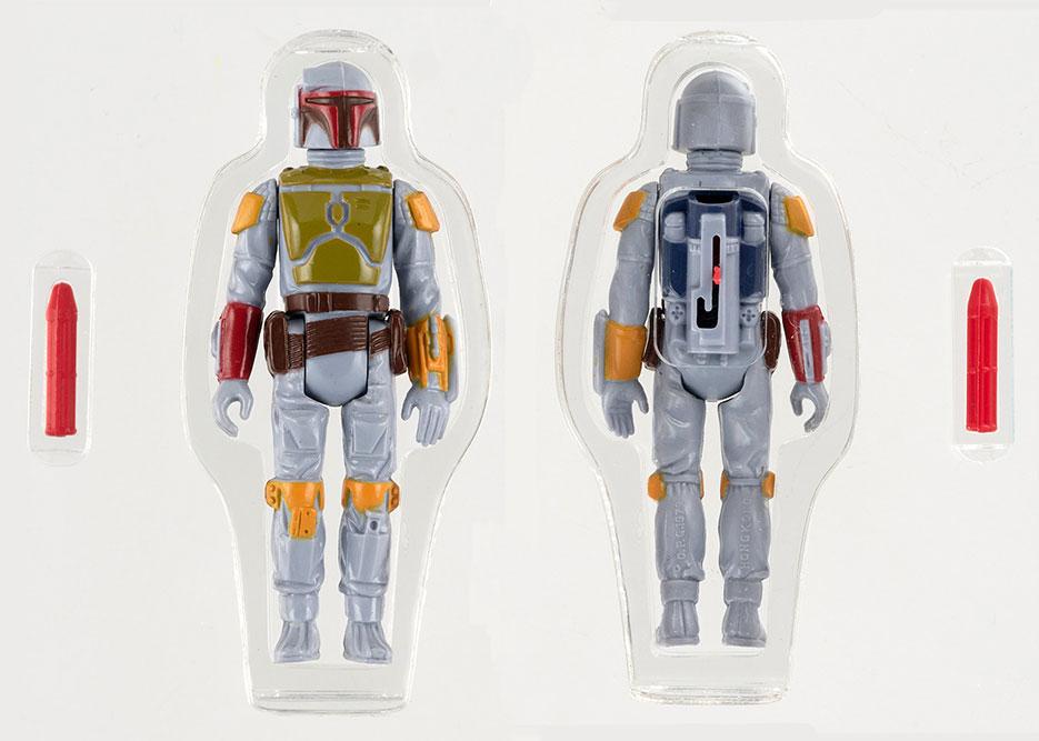 Rocket-Firing Boba Fett, el muñeco de Star Wars más raro y caro del mundo