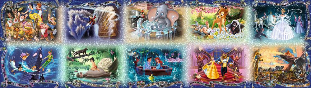 Rompecabezas Disney Moments de 40.000 piezas