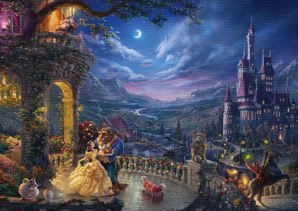 Rompecabezas de Disney de 1000 piezas: La Bella y la Bestia