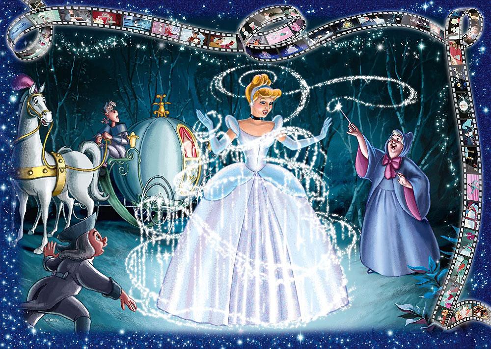 Rompecabezas de Disney de 1000 piezas: La Cenicienta