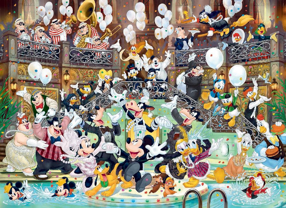 Rompecabezas de Disney de 1000 piezas: Mickey Mouse