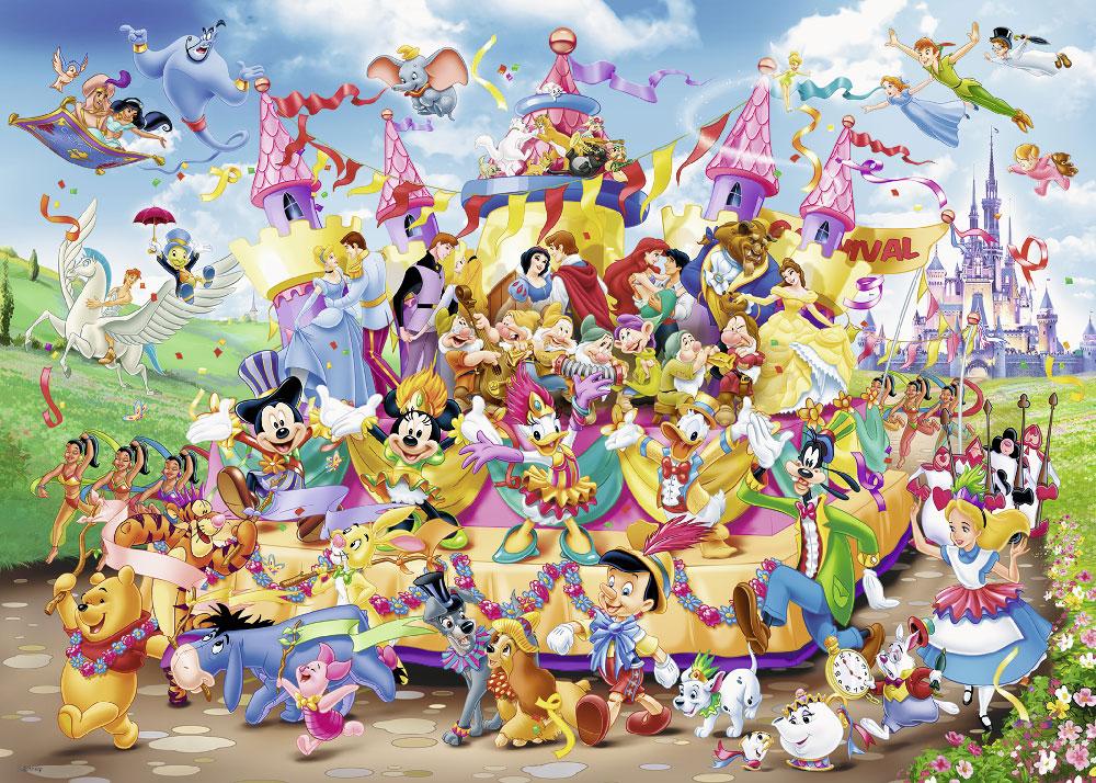 Rompecabezas de Disney de 1000 piezas: Disneylandia