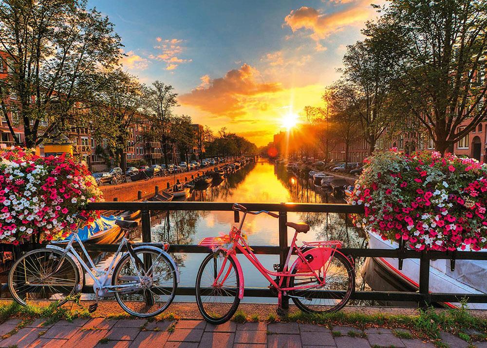Rompecabezas de Amsterdam - Ravensburger