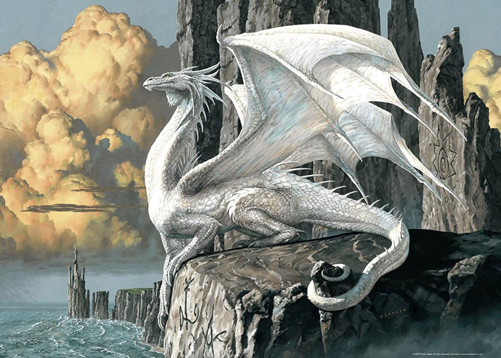 Rompecabezas Dragón de Ciruelo - Ravensburger