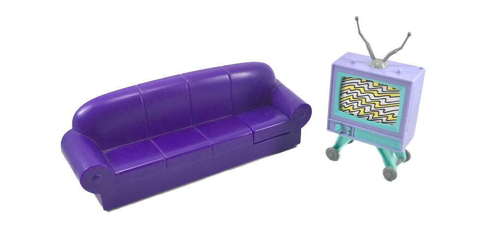 Sofa de Los Simpson Mattel 1990