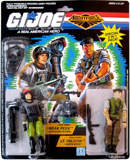 Sneak Peek & Lt. Falcon G.I. Joe