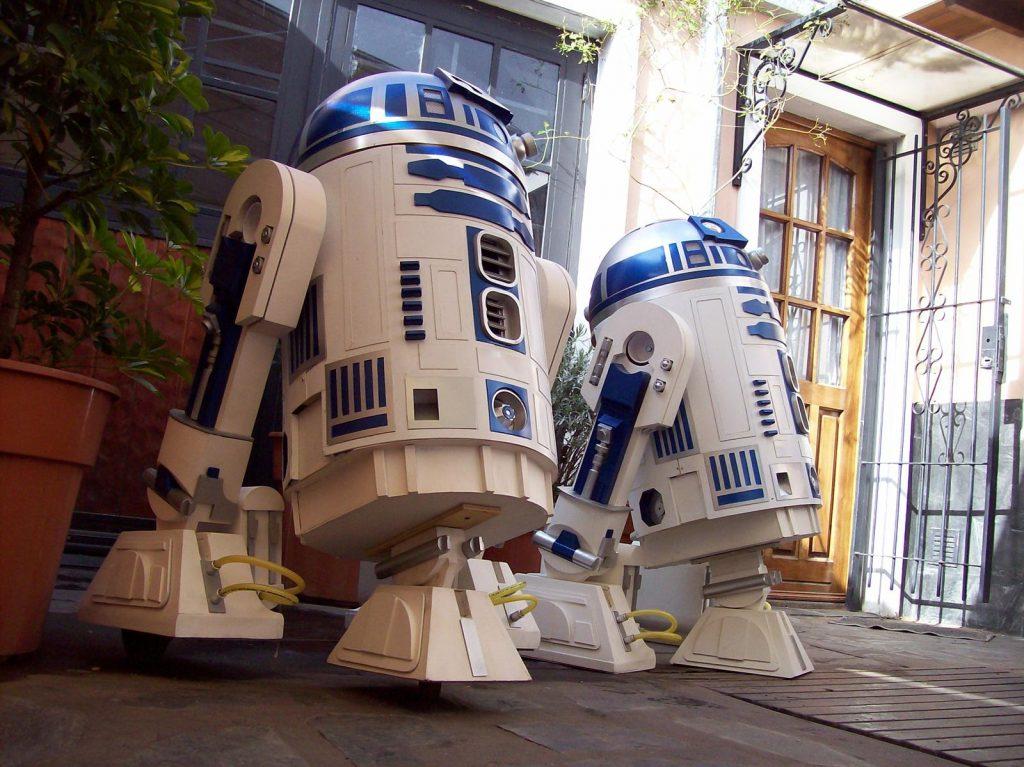 Réplicas robot de R2D2 - Star Wars