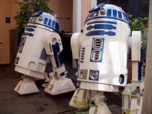 Réplicas del robot de R2D2