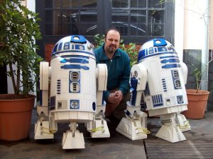 R2D2 réplica robot de Star Wars