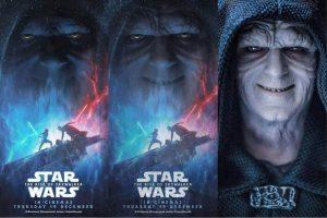 El póster de Star Wars: Rise of Skywalker fue hecho con un juguete de Palpatine