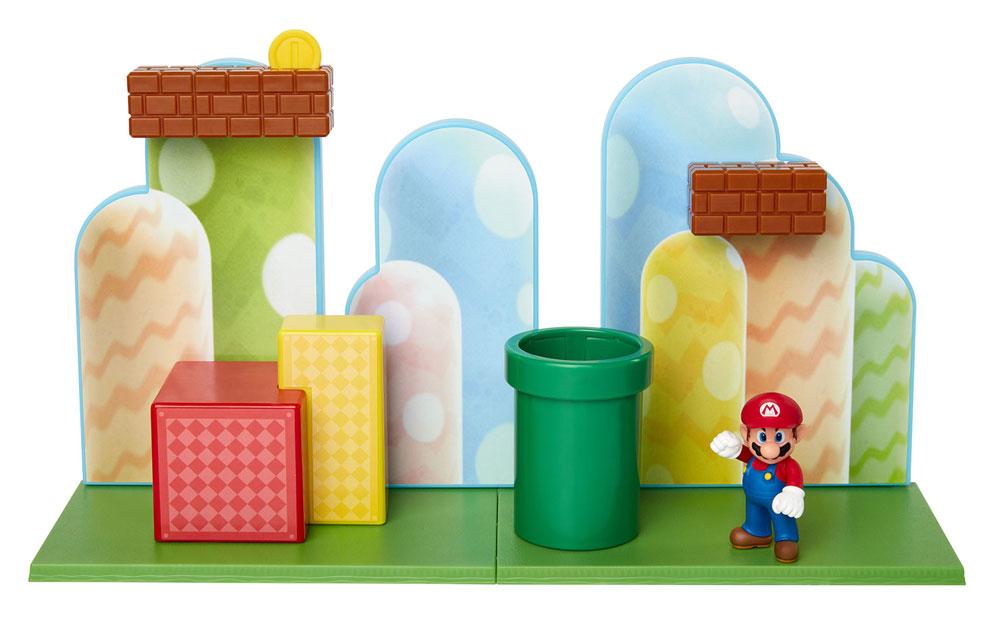 Muñeco de Super Mario con Acorn Plains Playset Jakks
