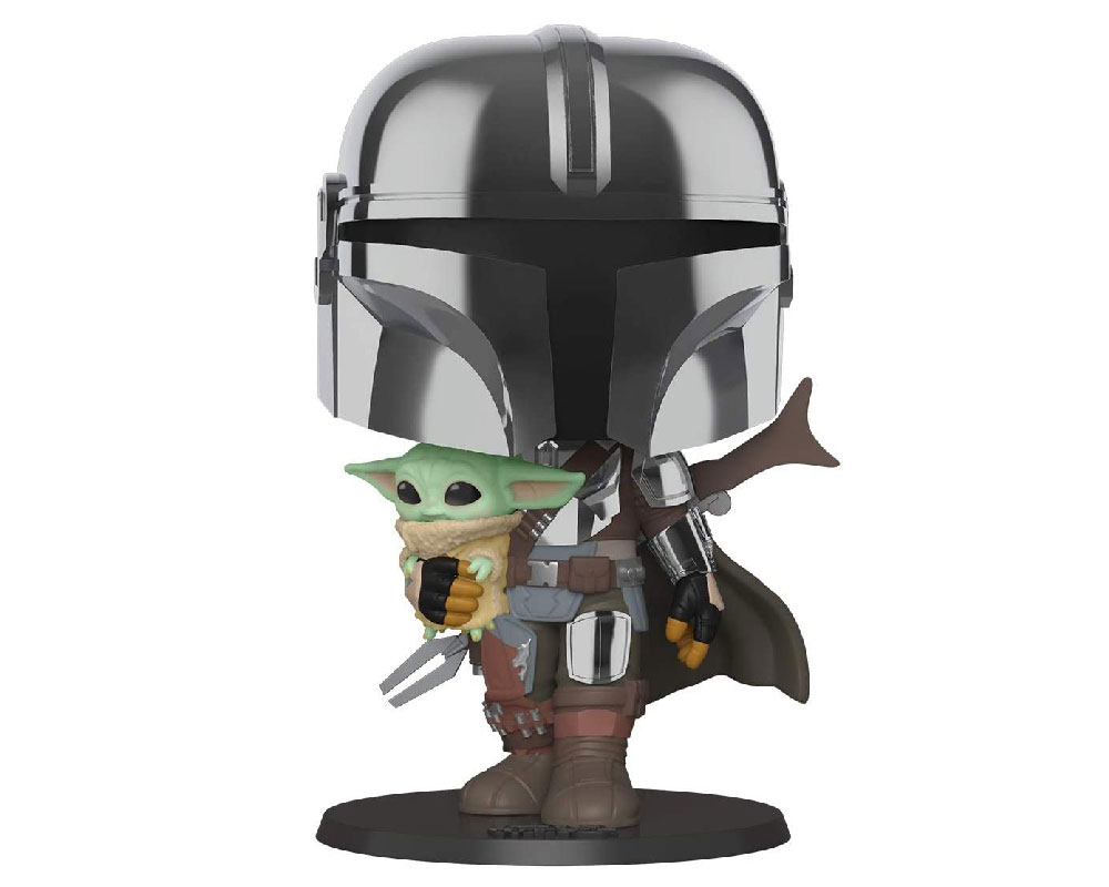 """The Mandalorian with The Child Funko Pop 380 10"""""""