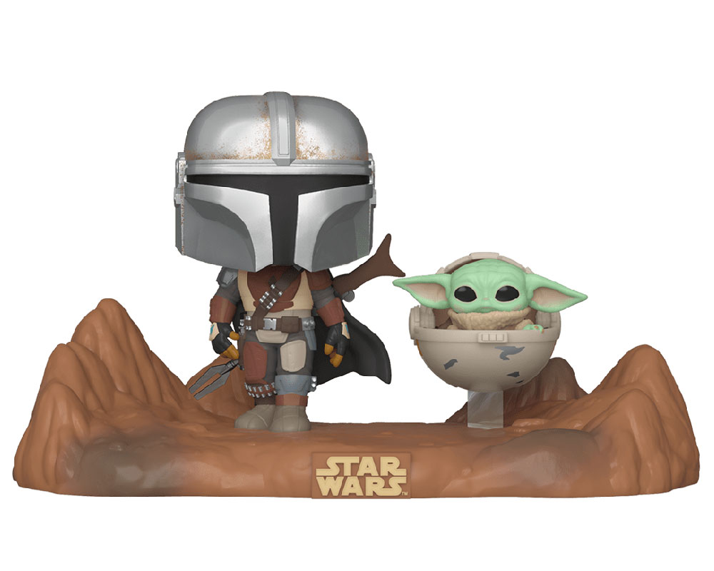 The Mandalorian with The Child Funko Pop 390