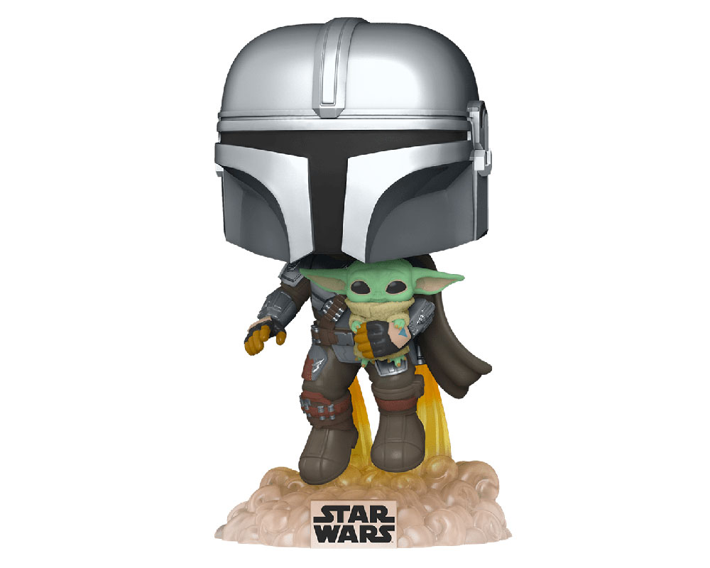 The Mandalorian with The Child Funko Pop 402