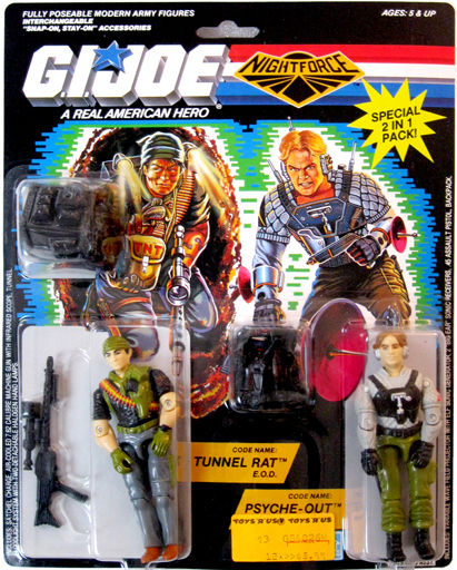 Tunnel Rat & Psyche-Out G.I. Joe