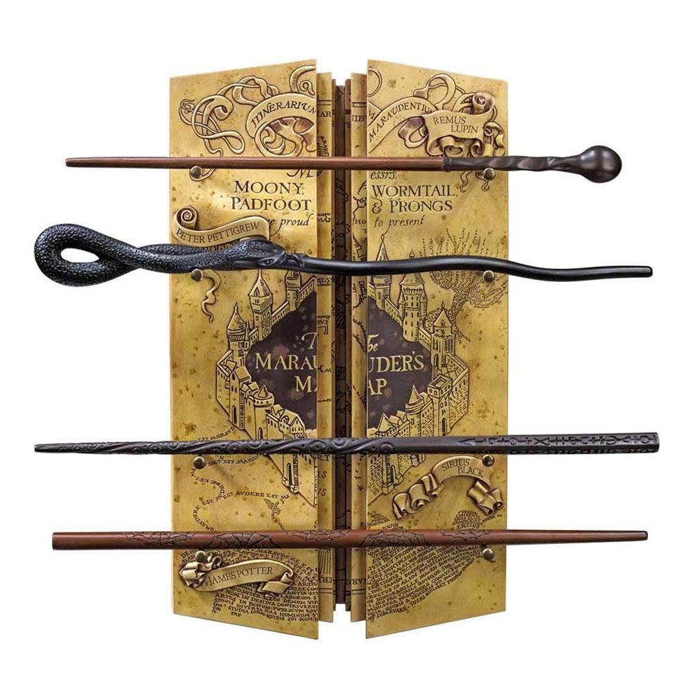 Set de varitas de Harry Potter con Mapa del Merodeador